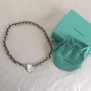 Return to Tiffany Heart Choker Tag